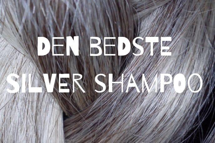 Den bedste silver shampoo