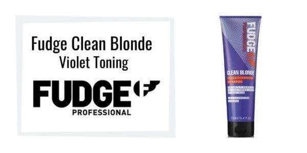 Fudge Clean Blonde Violet Toning