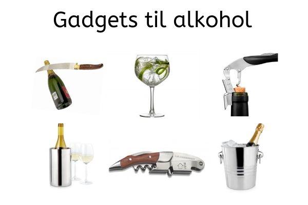 Mænd elsker gaver med vin og alkohol