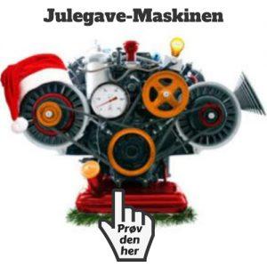 julegave maskine gaver til ham julegaveønsker