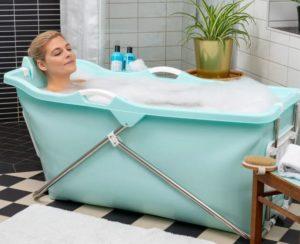 ønsker sig badekar