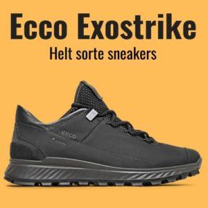 Ecco exostrike helte sort sneakers