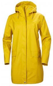 Helly Hansen gul regnjakke