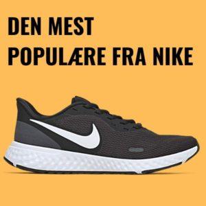 Nike Revolution 5 er den mest populære fra Nike