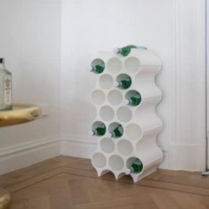 Gave til hjemmet bolig vinreol smart