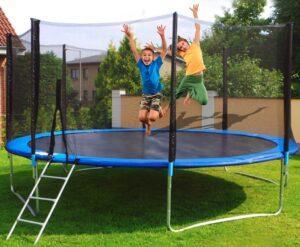 trampolin er bedste investering gave