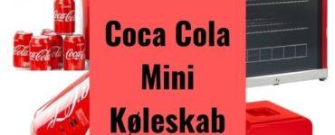 Coca Cola mini køleskab - se de 4 fede køleskabe her