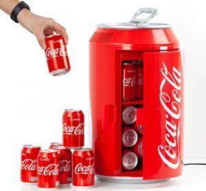 Coca Cola mini køleskab som dåse