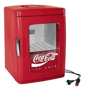 coca-cola køleskab med gennemsigtig låge retro billig