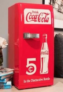 klassiske coca-cola køleskabe