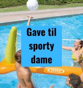 Gave til sporty dame - populære gaver til sport