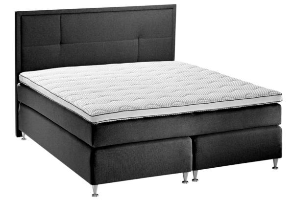 halvhøj senge med sort sengegavl
