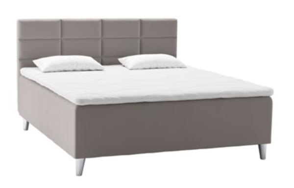svane nobel kontinental halvhøj seng grå
