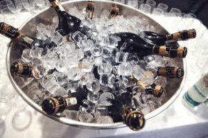 gave veninde student eksamen champagne